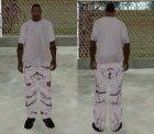 Маскировочные штаны для GTA San Andreas вид слева