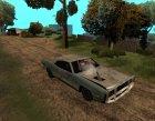 Постапокалиптический Buccaneer for GTA San Andreas rear-left view