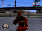 Ironman MK 3 Space GoTG Red для GTA San Andreas вид изнутри