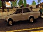 ВАЗ 2107 Ранняя версия для GTA San Andreas вид сверху