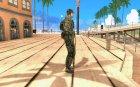 Новый солдат для GTA San Andreas вид сверху