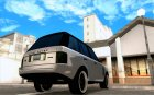 Range Rover Hamann Edition for GTA San Andreas top view