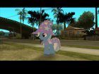Trixie (My Little Pony) for GTA San Andreas rear-left view