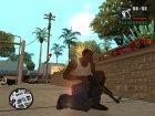 Пак качественного оружия для GTA San Andreas вид слева