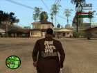 Фирменная коричневая for GTA San Andreas left view