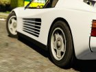 1984 Ferrari Testarossa 1.9 for GTA 5 left view