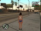 Girl from The Sims 4 для GTA San Andreas вид изнутри