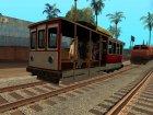 Пак реальных поездов V.2 от VONE для GTA San Andreas вид сзади слева