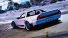 Honda NSX Rocket Bunny for GTA 5 right view