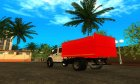 ГАЗон NEXT САЗ-2507 С большой кабиной для GTA San Andreas вид сверху