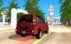 Toyota Land Cruiser Prado for GTA San Andreas top view