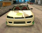 Nissan Silvia S15 24AUTORU for GTA San Andreas inside view