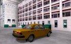 ГАЗ 3110 Такси для GTA San Andreas вид сзади слева