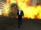 Джеймс Бонд Агент 007 для GTA San Andreas вид слева