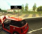 Mini Cooper S Euro for GTA San Andreas top view