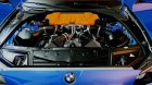 BMW M5 F10 G-Power для GTA San Andreas вид сзади