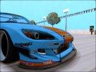 Honda S2000 Pandem Gulf Racing для GTA San Andreas вид сбоку