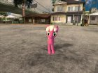 Cheerilee (My Little Pony) для GTA San Andreas вид сзади слева