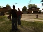 LVPD Officer without uniform для GTA San Andreas вид изнутри