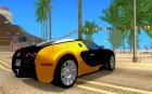 Bugatti Veyron taxi beta для GTA San Andreas вид сверху
