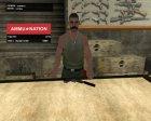 Пак оружия GTA 5 для GTA San Andreas вид слева