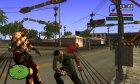 Кастет из Алиен Сити for GTA San Andreas back view