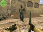 Carl Johnson для Counter-Strike 1.6 вид слева