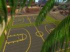 Обновлённая баскетбольная площадка for GTA San Andreas top view
