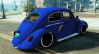 VW Beetle Livery Goodyear for GTA 5 rear-left view