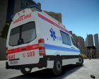 Mercedes-Benz sprinter baku ambulance for GTA 4 left view