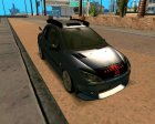 Peugeot 206 SD Coupe Tuning для GTA San Andreas вид слева