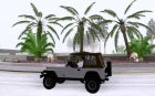 Jeep Wrangler Convertible for GTA San Andreas left view