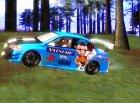 Mitsubishi Lancer Evo IX Anime for GTA San Andreas left view