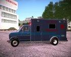 Ford E-350 Ambulance 1982 для GTA San Andreas вид сбоку
