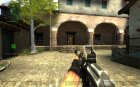 Darkness Device Sand Camo AK-47 for Counter-Strike Source left view