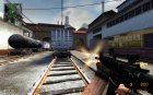 M4A1 Improved для Counter-Strike Source вид слева