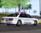 Police LS Metropolitan Police для GTA San Andreas вид сверху