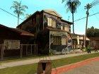 Новые текстуры домов на Грув Стрит для GTA San Andreas вид сбоку