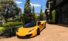 McLaren MP4 12C 1.3 for GTA 5 rear-left view