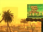 GTA 5 Girl Poster billboard для GTA San Andreas вид сбоку
