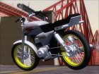 Suzuki AX 100 Stunt for GTA San Andreas rear-left view