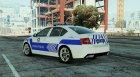 Škoda Octavia 2016 Yeni Türk Trafik Polisi for GTA 5 left view