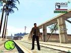 Тобиас Джонс для GTA San Andreas вид сзади слева