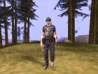 Post Apocalypse Warrior для GTA San Andreas вид слева