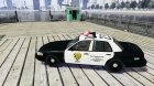 Ford Crown Victoria Raccoon City Police Car для GTA 4 вид слева