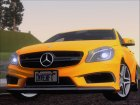 Mercedes-Benz A45 AMG 2012 (Second Complect Paintjobs) для GTA San Andreas вид изнутри