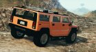 Hummer H2 FINAL for GTA 5 rear-left view