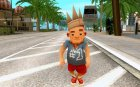 A character from the Subway Surfers (Android)