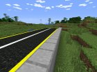 Road Mod for Minecraft rear-left view