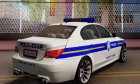 BMW M5 - Croatian Police Car для GTA San Andreas вид изнутри
